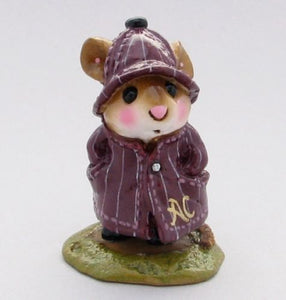 "WEE FOREST FOLK SPECIAL COLOR ""THE PURPLE GANG"" AL CAPONE GANGSTER APRIL SHOWER MOUSE"