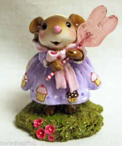 WEE FOREST FOLK SPECIAL COLOR THE BUNNY POP LTD LIL MISS CUPCAKE