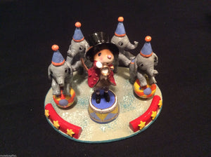 WEE FOREST FOLK SPECIAL COLOR TRUMPETER OF THE ELEPHANTS THE RINGMASTER MOUSE