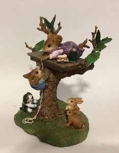 "WEE FOREST FOLK SPECIAL EDITION ""SUMMER"" FAMILY TREE HOUSE"