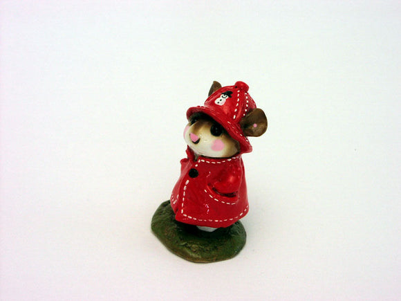 Wee Forest Folk Rare Special Color Snowman April Showers