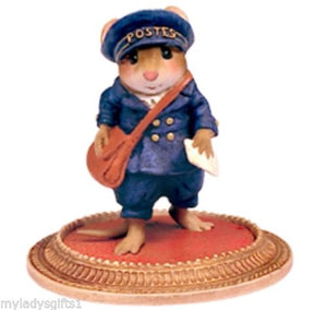 WEE FOREST FOLK THE POSTMAN A LA VAN GOGH MOUSE MU-04