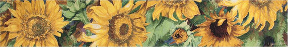 *NEW* SUNNY FACES TAPESTRY TABLE RUNNER