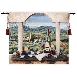 VIN DE PROVENCE GRANDE' TAPESTRY WALL HANGING
