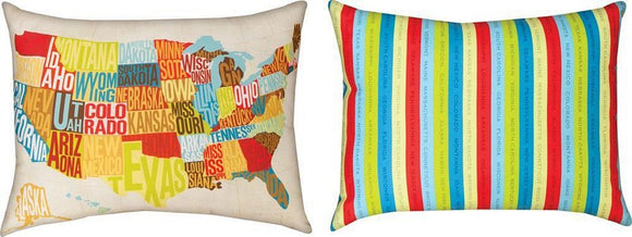 Across The Country Indoor/Outdoor Pillows Set of 2