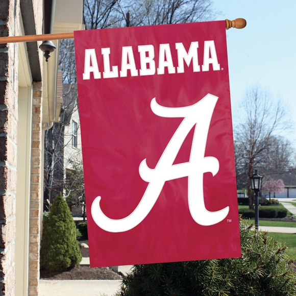 Alabama Applique Banner House Flag
