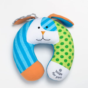Romero Britto Baby Travel Pillow- Puppy Dog