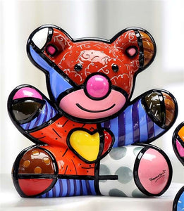 ROMERO BRITTO BEAR- HAPPY