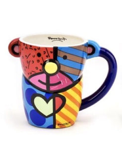 Romero Britto Bear Design Mug