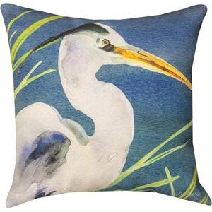 Blue Herron Indoor/Outdoor Climaweave Pillow