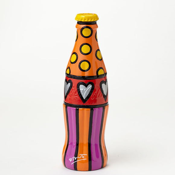 Romero Britto Coke Bottle With Yellow Cap