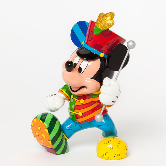 DISNEY BY BRITTO MICKEY MOUSE BAND LEADER FIGURINE