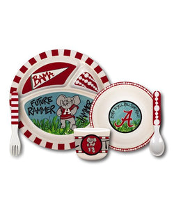 *New* Children's Alabama Crimson Tide Meal Set, 5 Pc. Set