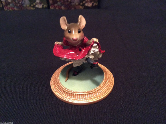 Wee Forest Folk Can Can Mouse A La Toulouse Lautree
