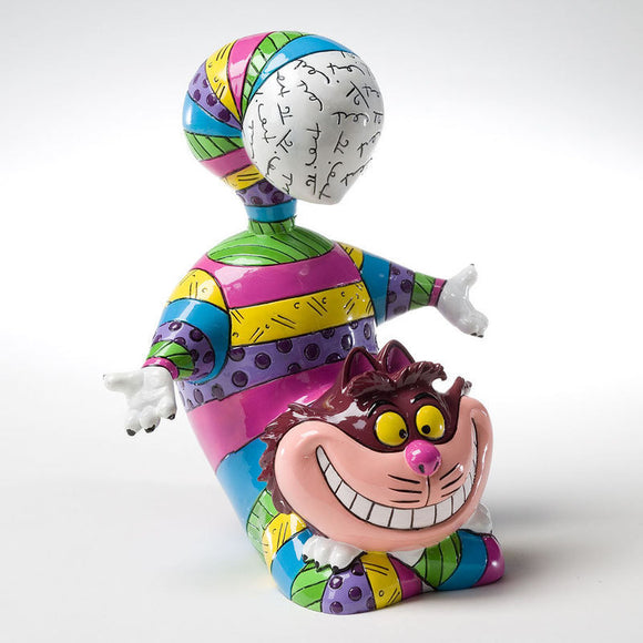 DISNEY BY BRITTO CHESHIRE CAT FIGURINE