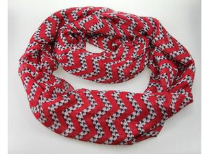 Alabama Chevron Houndstooth Scarf