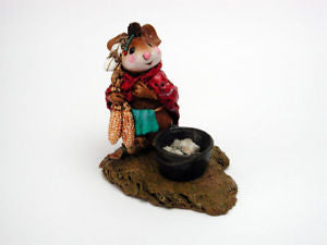 Wee Forest Folk Chief Mouseasoit