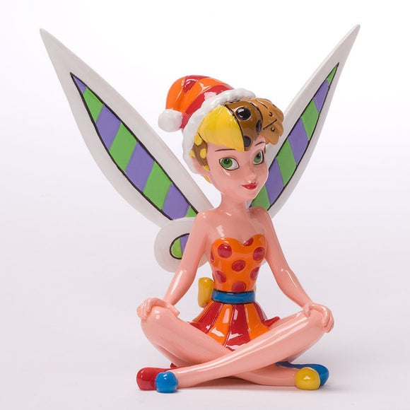 DISNEY BY BRITTO CHRISTMAS MINI TINKERBELL FIGURINE
