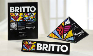 ROMERO BRITTO SET OF 3 DEALER SIGNS