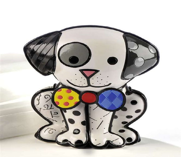 ROMERO BRITTO DOG FIGURINE- DALMATION