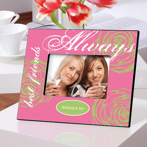 Personalized Forever Friends Pink 'N Pretty Picture Frame