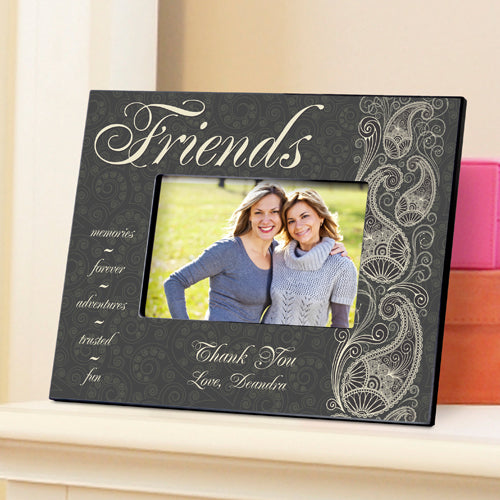 Personalized Friends Pretty Paisley Picture Frame