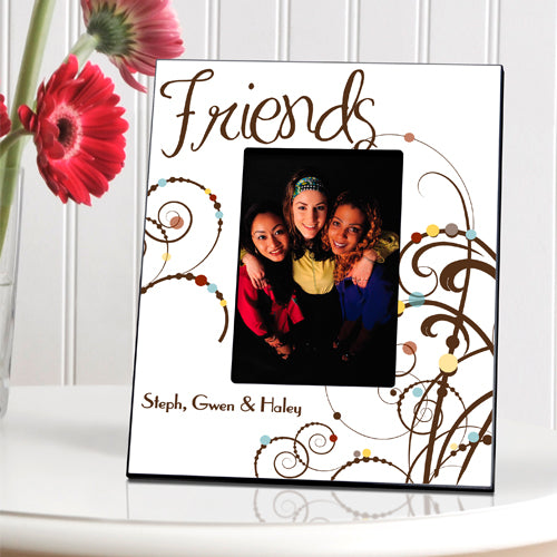 Personalized Friendship Bouncy Bouquet Picture Frame
