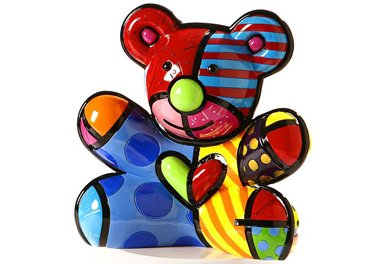 ROMERO BRITTO HOPE BEAR MONEY BANK