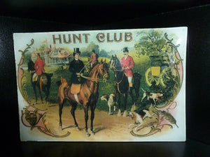 Hunt Club Fox Scene Decoupage Tray
