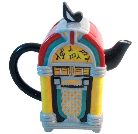 Retro Ceramic Juke Box Teapot