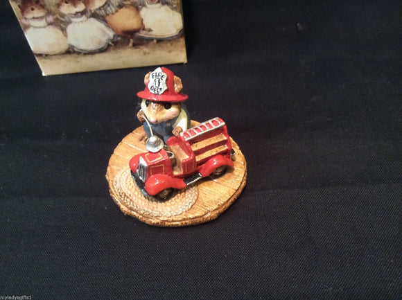 Wee Forest Folk Little Fire Chief