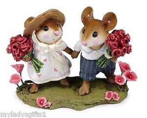 Wee Forest Folk LTD Strolling Through The Seasons Spring Red Roses