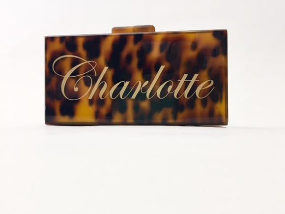 Marie Acrylic Clutch Bag
