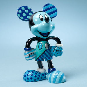 "ROMERO BRITTO DISNEY MICKEY MOUSE ""THE BLUE PERIOD"" FIGURINE"