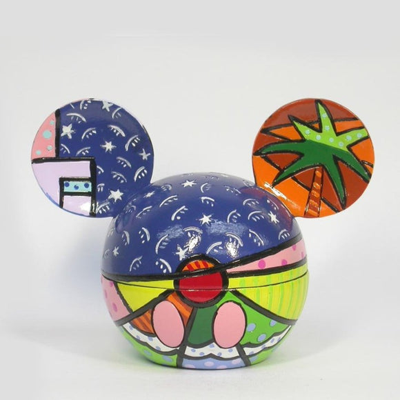 ROMERO BRITTO DISNEY MICKEY EARS SUMMER FUN BOX