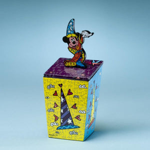ROMERO BRITTO DISNEY FANTASIA MICKEY MOUSE WIZARD BOX