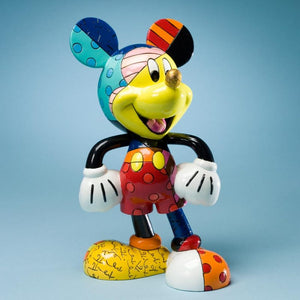 ROMERO BRITTO DISNEY MICKEY MOUSE LARGE FIGURINE