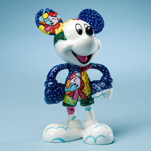 ROMERO BRITTO DISNEY MICKEY MOUSE WINTER FIGURINE