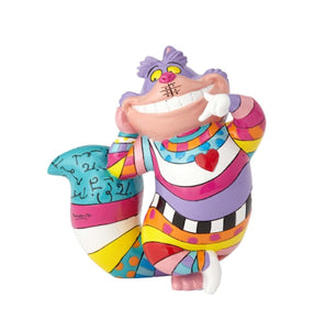 Romero Britto Disney Mini/Miniature Cheshire Cat Figurine