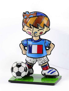 BRITTO WORLD CUP SOCCER PLAYER MINI- FRANCE
