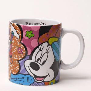 ROMERO BRITTO DISNEY MINNIE MOUSE MUG