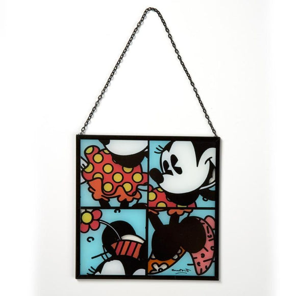 ROMERO BRITTO DISNEY MINNIE MOUSE SUN CATCHER