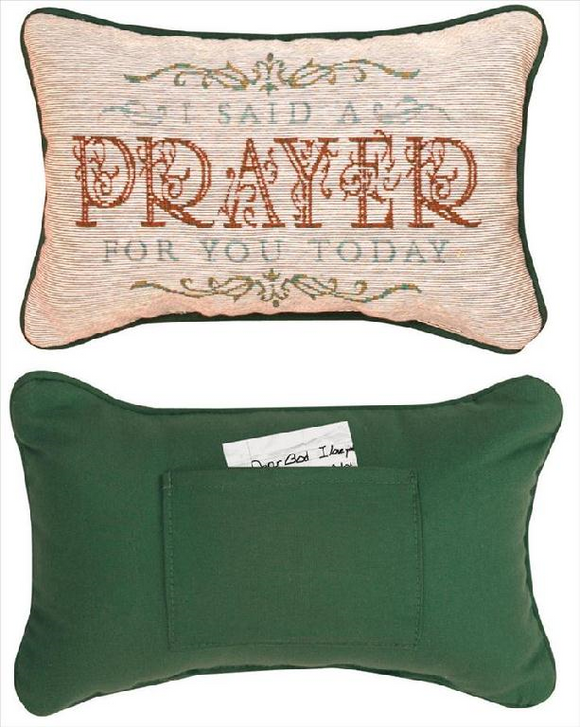 Daily Devotion Prayer Pillow