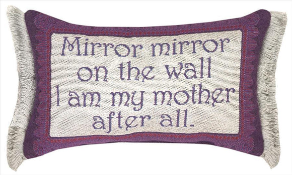 Mirror Mirror Tapestry Pillow