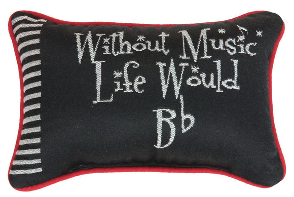 Take Note Tapestry Word Pillow