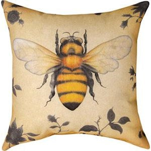 Insect's Bee Indoor/Outdoor Pillows Set of 2