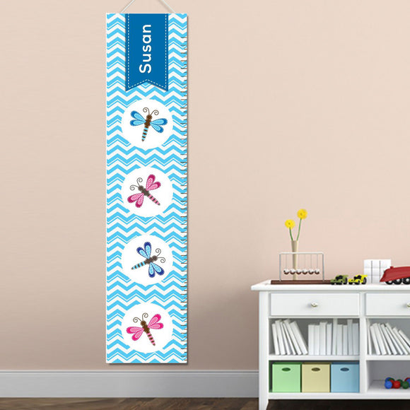 Personalized Dragon Fly/Dragonfly Growth Chart