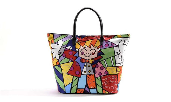 Romero Britto Hug Tote Bag