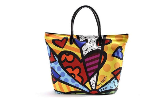 Romero Britto A New Day Tote Bag