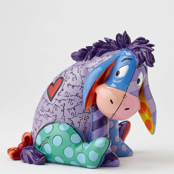 DISNEY BY BRITTO EEYORE MEDIUM FIGURINE